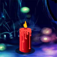 Free online flash games - Brighten Candle Forest Escape