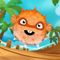Free online flash games - Super Puffer Fish game - WowEscape