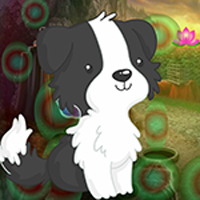 Free online flash games - Games4king Black And White Puppy Escape