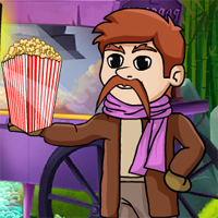 Free online flash games - Games2Jolly The Popcorn Escape