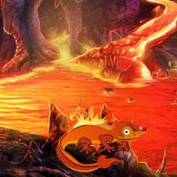 Fire Cave Escape