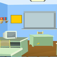 Free online html5 games - Games4Escape Computer Room Escape game