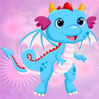 Free online flash games - Games4King Lovely Dragon Escape