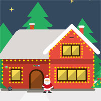 Free online flash games - KidJollyTv Escape from Christmas Santa Clause game - WowEscape