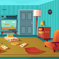 Free online flash games - Beautiful Living Room Escape