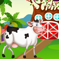 Free online flash games - G4K Farmyard Cow Rescue