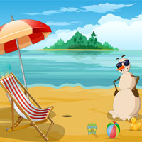 Free online flash games - Escape From The Summer Beach