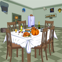 Free online flash games - REPLAY Thanksgiving Room Escape game - WowEscape
