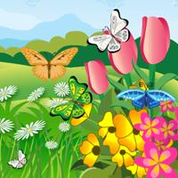 Free online flash games - Hidden Butterflies HOG game - WowEscape