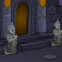 Free online flash games - Cursed Statue Fort Escape game - WowEscape