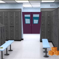 Free online flash games - GenieFunGames Players Locker Room Escape