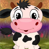 Free online flash games - G4k Puckish Cow Rescue game - WowEscape