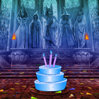 Free online flash games - New Year Fantasy Castle Escape
