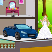 Free online flash games - White Princess Doll House game - WowEscape