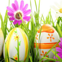 Free online flash games - Hiddenogames Happy Easter Hidden Numbers game - WowEscape