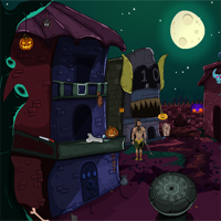 Free online flash games - Halloween Finding Sunken Path