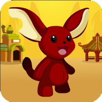 Free online flash games - Red Bunny Rescue game - WowEscape
