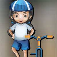 Free online flash games - AVMGames Cycling Girl Escape