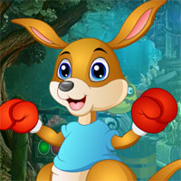 Free online flash games - G4k Boxing Kangaroo Rescue