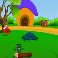 AvmGames - Avm Greeny Forest Hut Escape