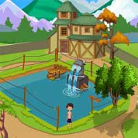 Cute Boy Swimming Escape Games2Jolly