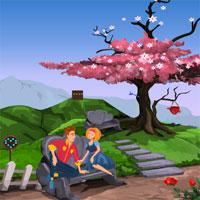 Free online flash games - Games4Escape Lovers Garden Escape game - WowEscape