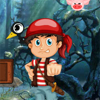 Games4King Hunter Boy Rescue