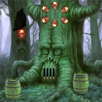Free online flash games - 8BGames Halloween Owl Escape game - WowEscape