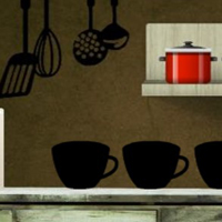 Free online html5 games - 8bgame Chef House Escape game