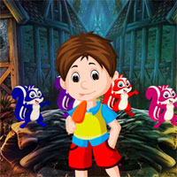 Free online flash games - G4K Cute Naughty Boy Escape game - WowEscape