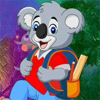 Free online flash games - School Bear Escape