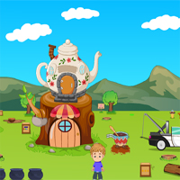 Free online flash games - Games2Jolly  Coffee Cart Escape