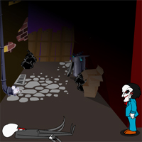 Free online flash games - Slenderman Saw game - WowEscape