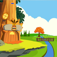 Free online flash games - Baby Jaguar Escape