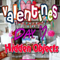 Free online flash games - Hiddenogames Valentines Day Hidden Objects game - WowEscape